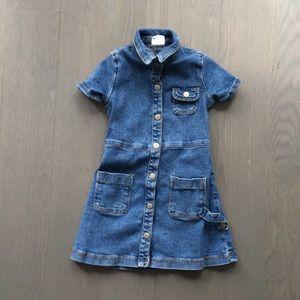 Zara denim dress size 3T